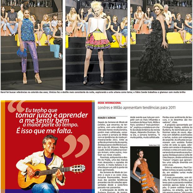 Periódico A Tarde, 23/09/2010
