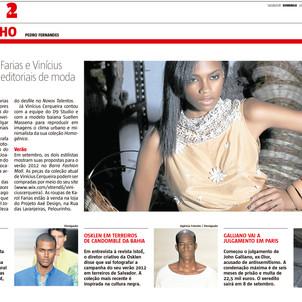 Periódico A Tarde, 20/06/2011