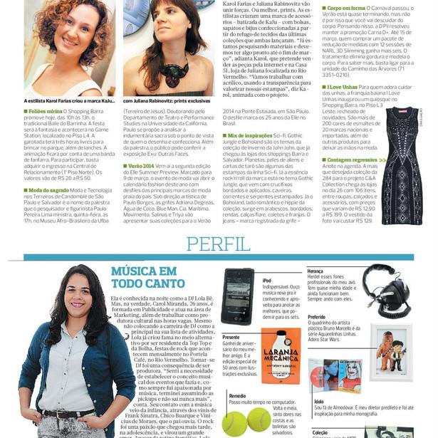 Periódico Correio, 17/02/2013