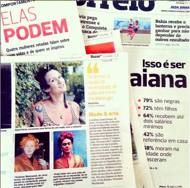 Periódico Correio, 08/03/2015