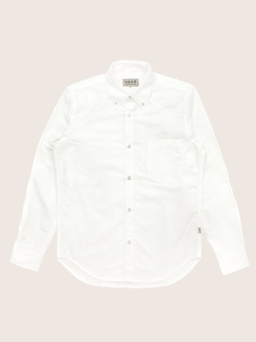 Oxford Button Down - White