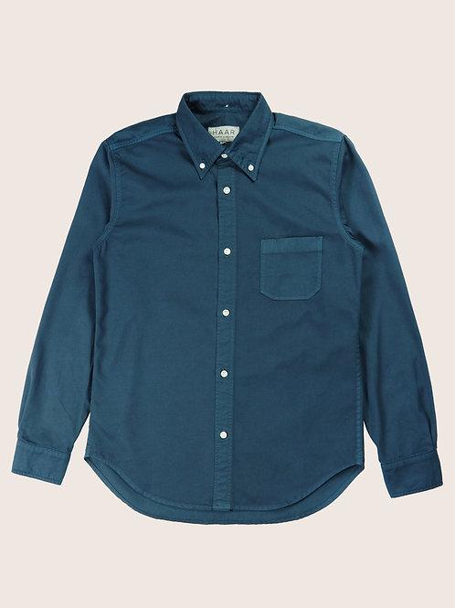 GD Button Down Shirt - North Sea Blue