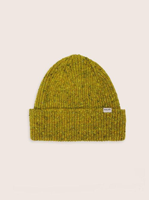 Donegal Wool Beanie - Moss