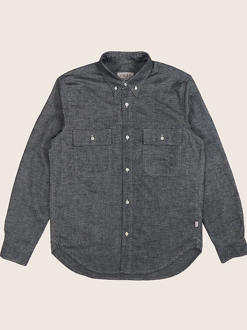 Flannel B.D Shirt - Granite