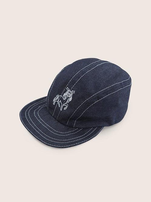 Pictish Packable Denim Cap - Raw