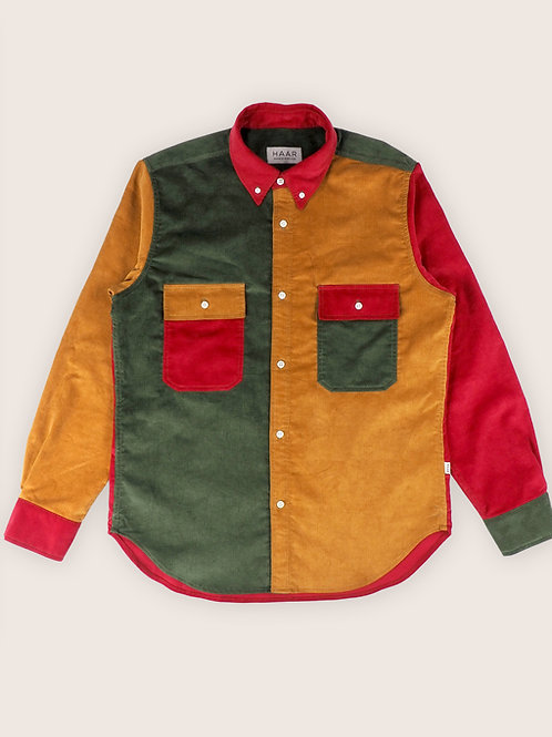 Mix Corduroy B.D. Shirt - Autumn