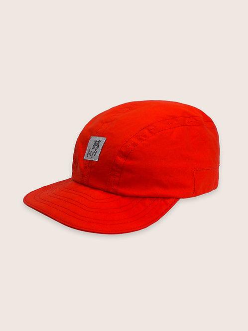 Patch Packable Hybrid Waxed Cap - Orange