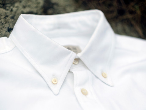 WE HAVE STOCK - White Cotton Twill Shirts