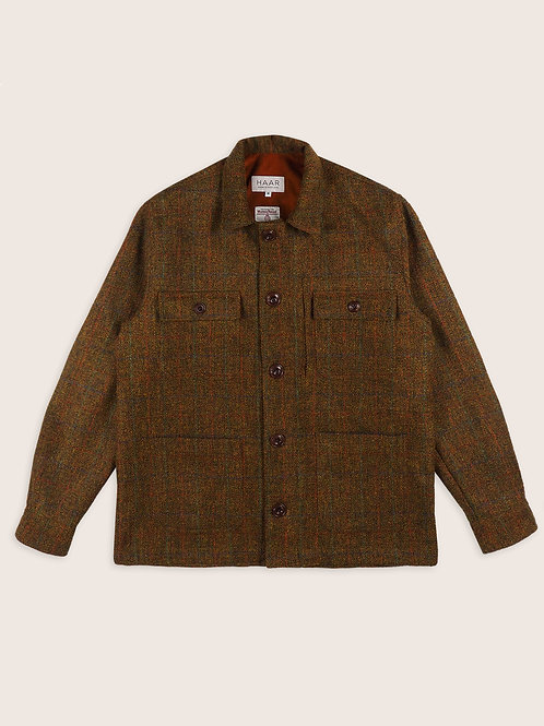 Harris Tweed Lined CPO - Autumn Leaves