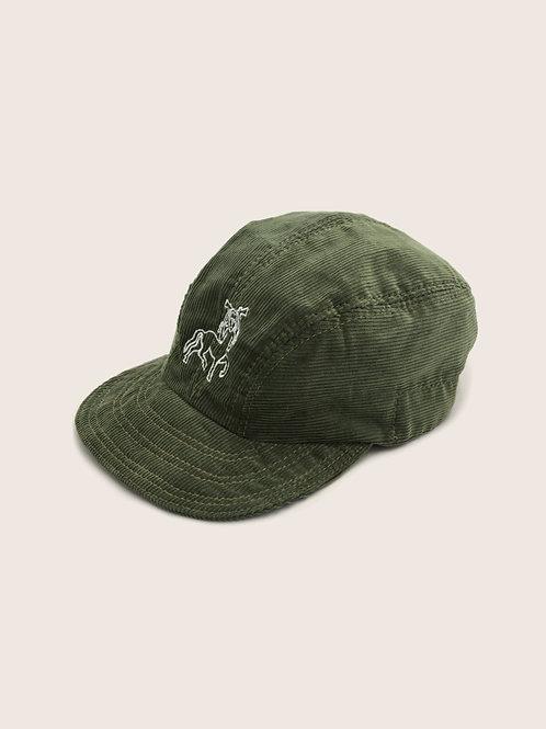 Pictish Packable Corduroy Cap - Sage