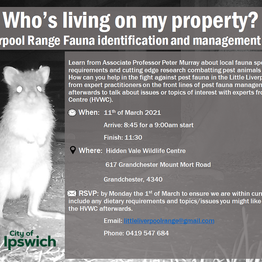 Fauna ID and Management Workshop
