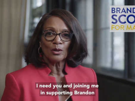 October 24: Former Mayor Dixon, Senate President Ferguson, State and Local Electeds Endorse Brandon