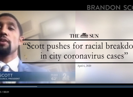 """May 2: Brandon Scott for Mayor Releases New Campaign Ad """"Everyone"""""""