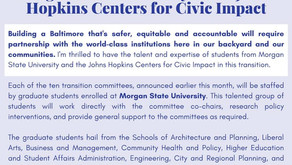 November 24: Mayor-Elect Brandon Scott Announces Partnership with Morgan State University and JHU