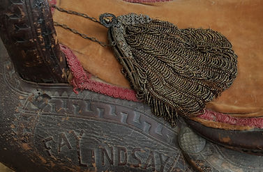 antique saddle and jewelry