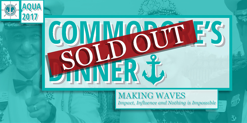 Commodore's Dinner: Making Waves