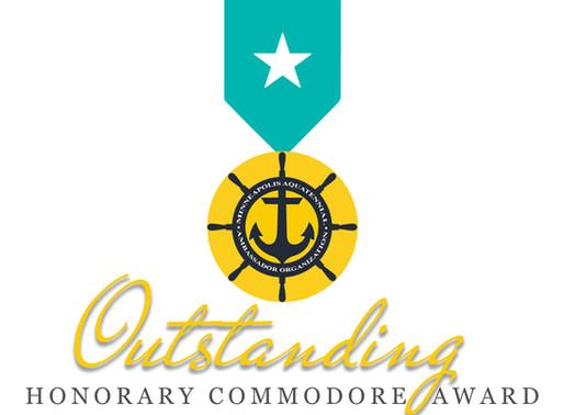 AAO presents Outstanding Honorary Commodore's Award, Minnesota Community Award