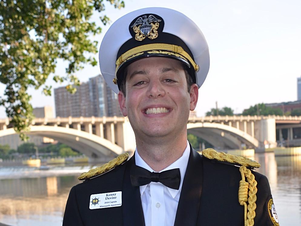 Aquatennial Captain Kenny Devine