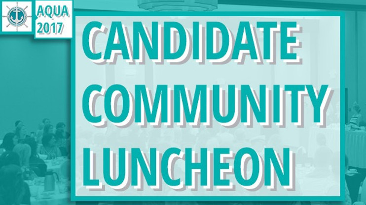 Candidate Community Luncheon