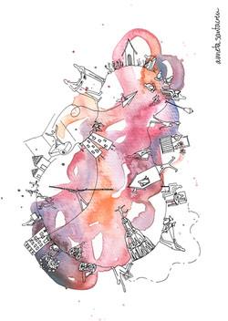 cuidadania rosa