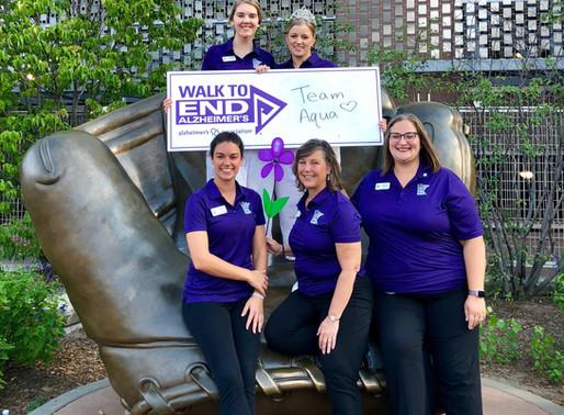 Ambassador Team Participates in Walk to End Alzheimer's
