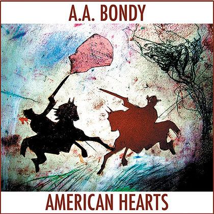 A.A. Bondy American Hearts, 180G Black Vinyl LP Record