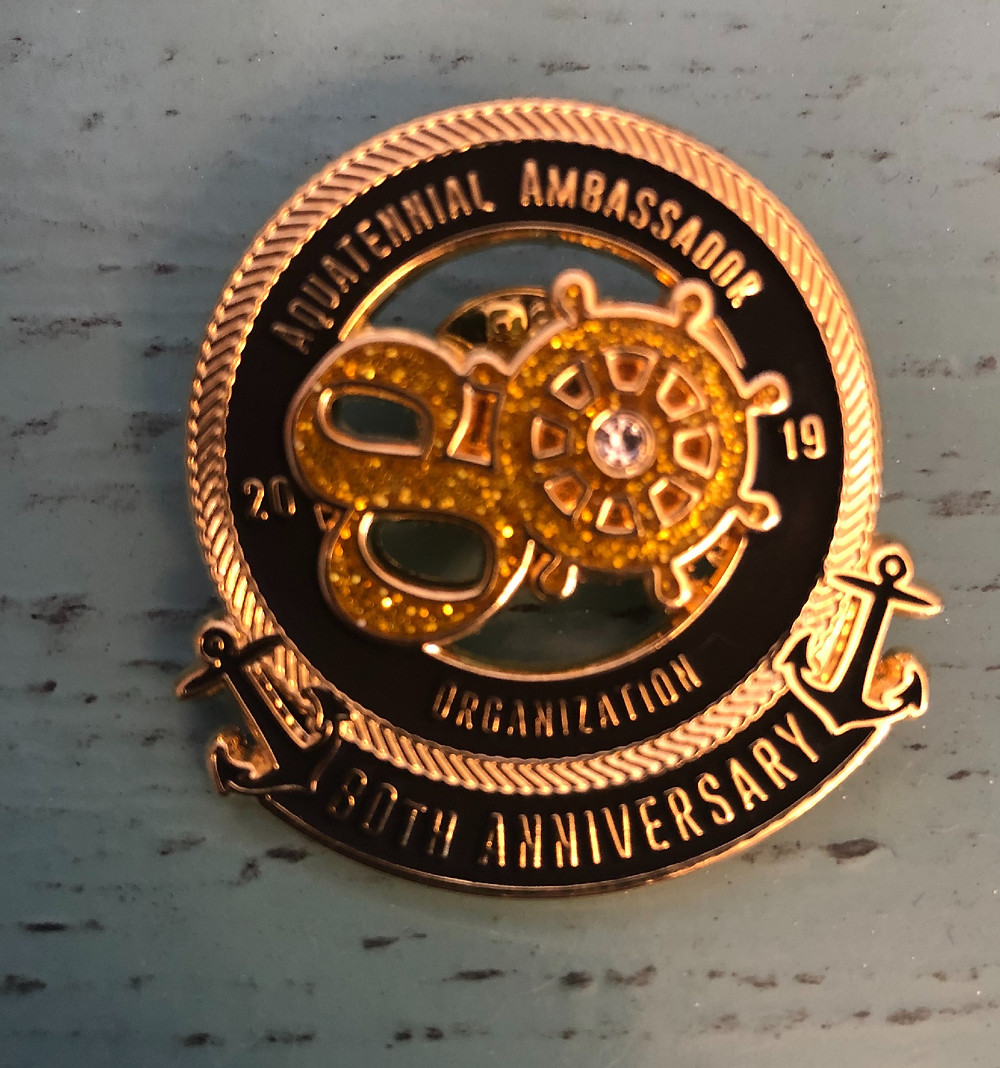 Limited Edition 80th Anniversary Pins: $20