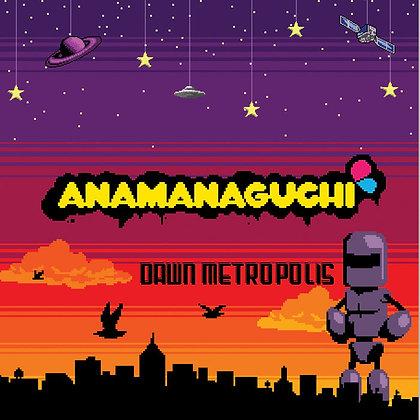 Anamanaguchi Dawn Metropolis-Reissue,180g Orange Purple Swirl Vinyl Record