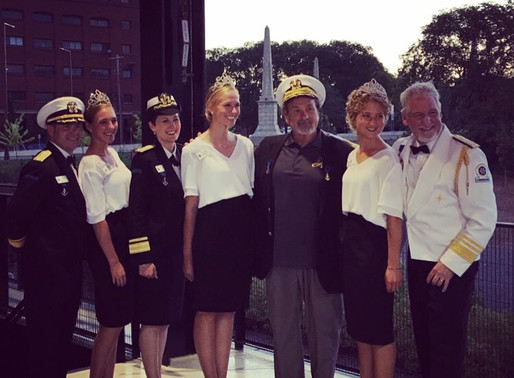 Saints Co-Owner Receives Commodore's Medal