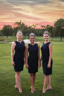 2021 Aquatennial Ambassadors: Erin, Elise & Amber
