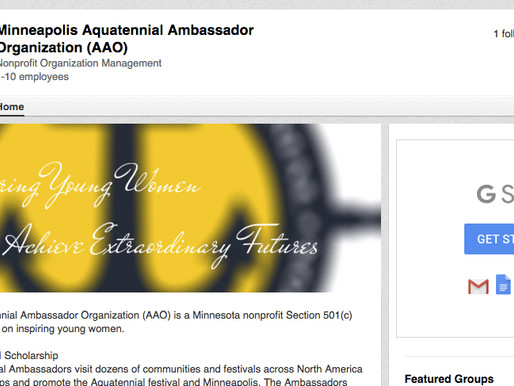 Alumni, Supporters & past Volunteers encouraged to add AAO to LinkedIn profile