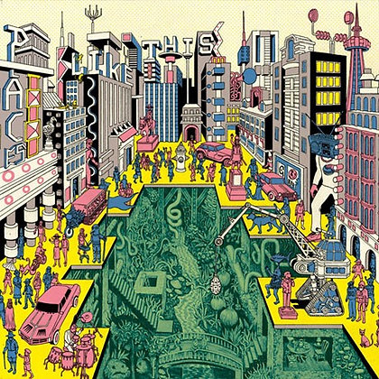 Architecture In Helsinki Places Like These, 180G Black Vinyl LP