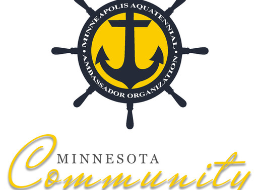 The Minnesota Community & Outstanding Honorary Commodore Awards presented at Community Luncheon