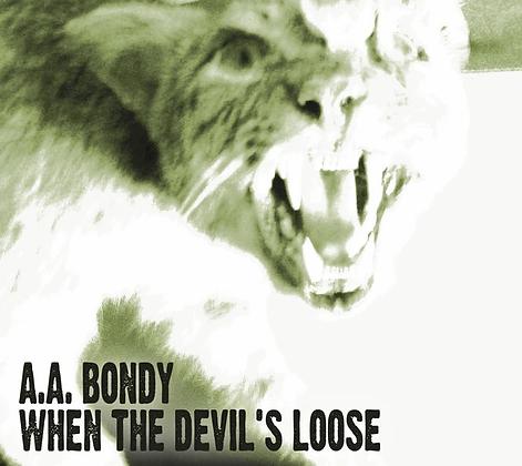 A.A. Bondy When The Devil's Loose, 180G Black Vinyl Record