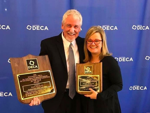 AAO Leadership Honored at MN DECA Conference