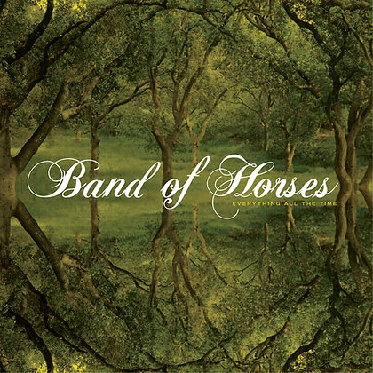 Band Of Horses Everything All The Time, 180G Black Vinyl LP