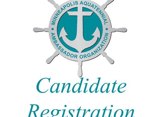 Candidate Registration enters final week