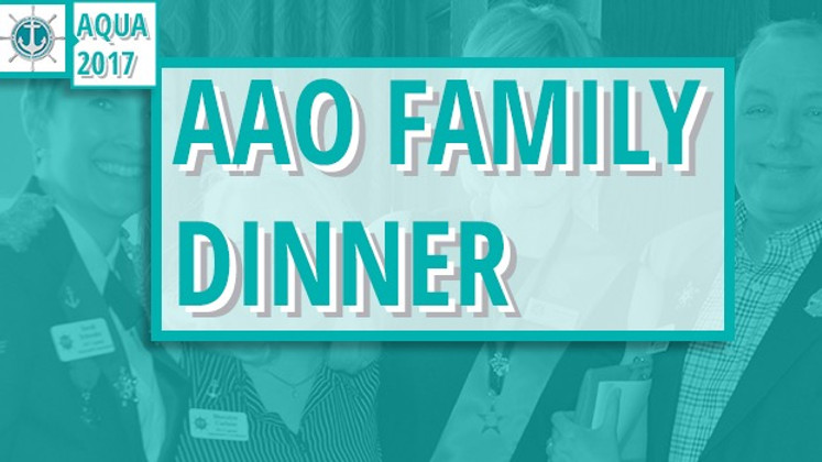 AAO Family Dinner