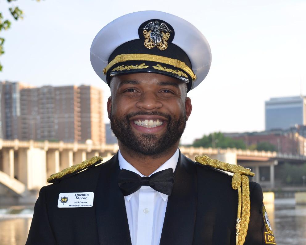 Aquatennial Captain Quentin Moore