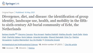 NEW paper from the CRUMBEL team