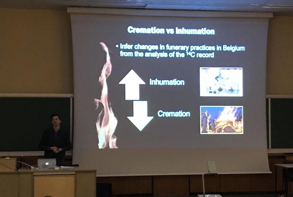 Giacomo's presentation