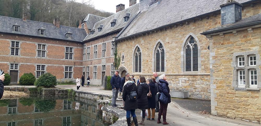 abbey of Notre Dame du Vivier at Marche-les-Dames