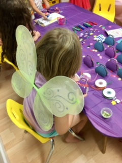 Kid's Craft/Activity Stations
