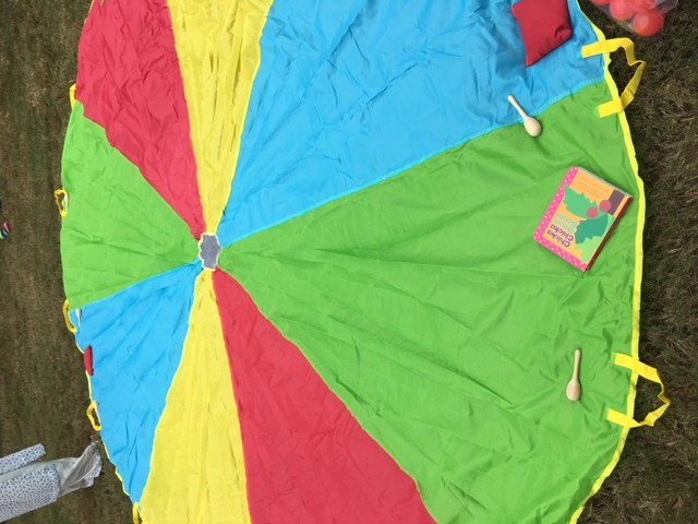Giant Parachute Party!