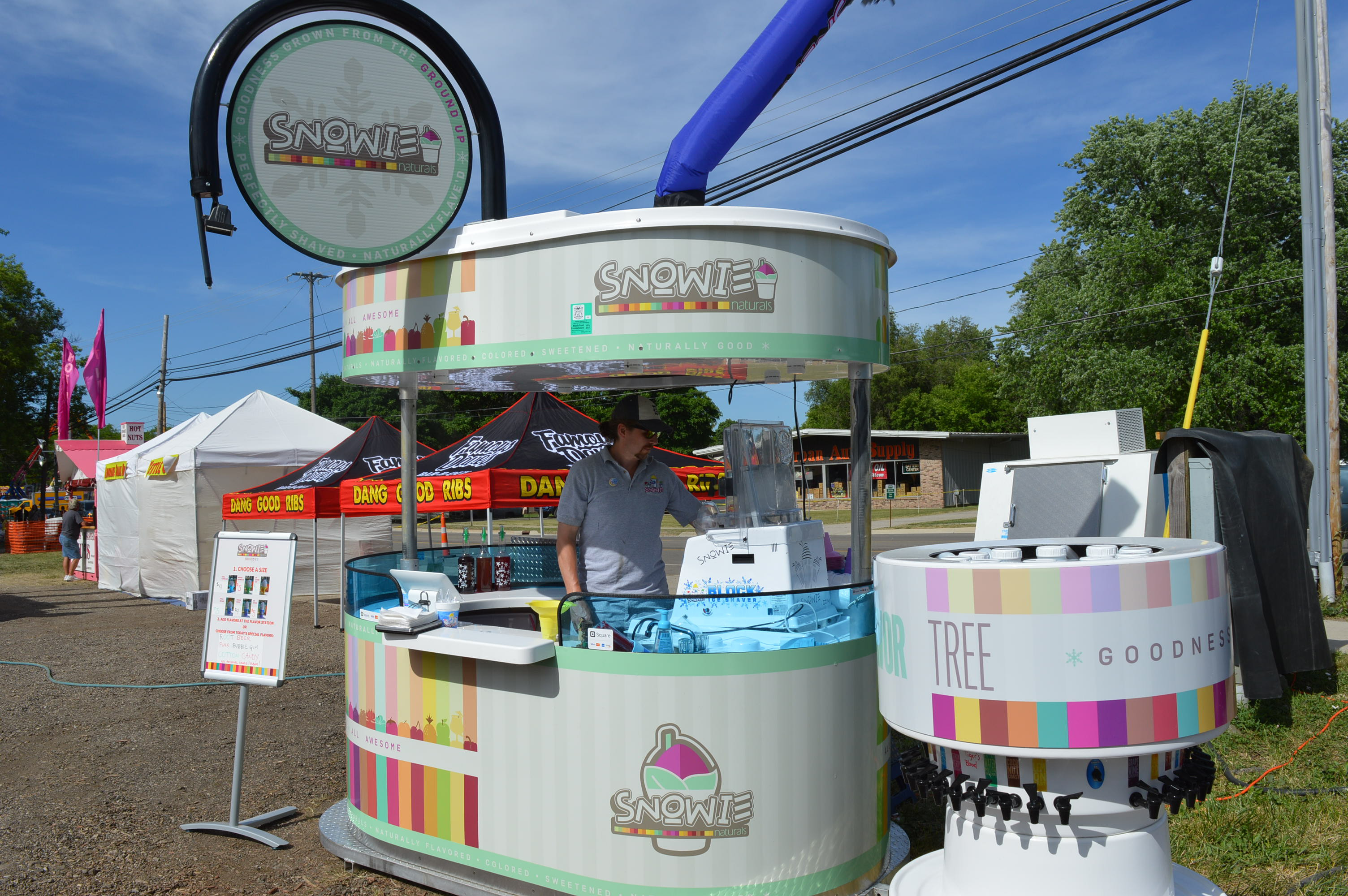 Unlimited shaved ice package