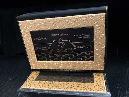 SECERT MIRACLE HONEY - 2 Boxes (24  Sachets)