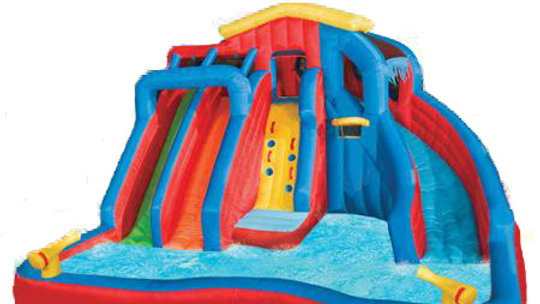 Banzai Water Park Swimming Splash Gun Water slide