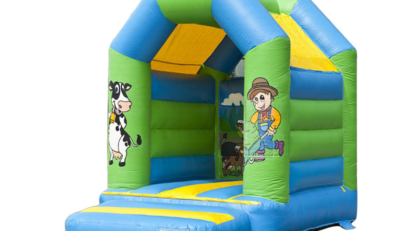 Cute Small Garden Bouncy Castle