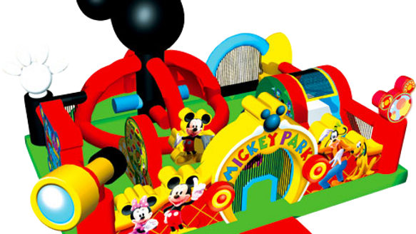 Mickey Park Interactive Jumping castle