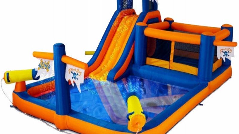 Pirate Bay Bouncer cum water slide